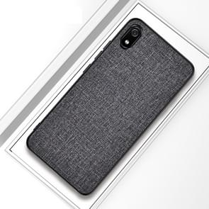 Shockproof Cloth Texture PC+ TPU Protective Case for iPhone 11 Pro(Grey)