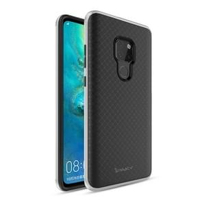 iPAKY Bumblebee PC Frame + TPU Case for Huawei Mate 20(Silver)