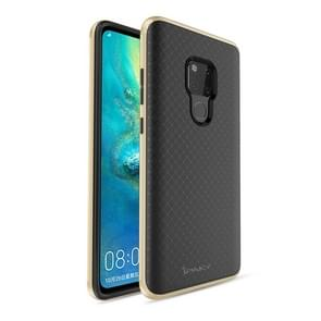iPAKY Bumblebee PC Frame + TPU Case for Huawei Mate 20 X(Gold)