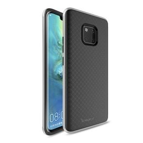iPAKY Bumblebee PC Frame + TPU Case for Huawei Mate 20 Pro(Silver)