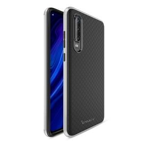 iPAKY Bumblebee PC Frame + TPU Case for Huawei P30(Silver)