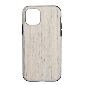 Wood Texture TPU Protective Case for iPhone 11 Pro(Nordic Walnut)