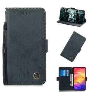 Multifunctional Horizontal Flip Retro Leather Case with Card Slot & Holder for Nokia 3.1 Plus(Black)