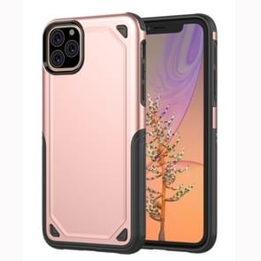 Shockproof Rugged Armor Protective Case for iPhone XI Max (2019)(Rose Gold)