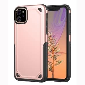 Shockproof Rugged Armor Protective Case for iPhone XIR (2019)(Rose Gold)