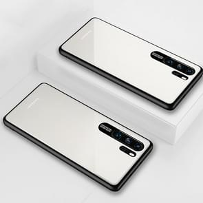 Lycra Series Eye Protection TPU Acrylic Protection Case for Huawei P30 Pro(White)