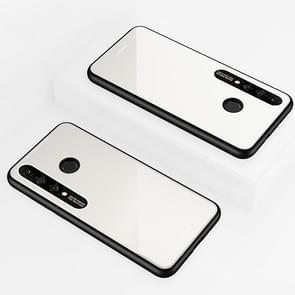Lycra Series Eye Protection TPU Acrylic Protection Case for Huawei Nova 4e / P30 Lite(White)