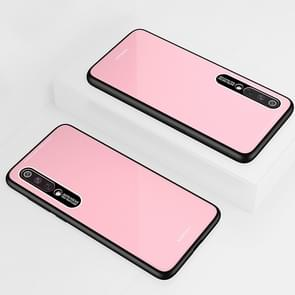 Lycra Series Eye Protection TPU Acrylic Protection Case for Xiaomi 9(Pink)