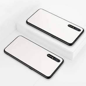 Lycra Series Eye Protection TPU Acrylic Protection Case for Vivo X23(White)