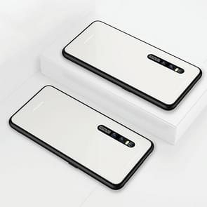 Lycra Series Eye Protection TPU Acrylic Protection Case for Vivo X27(White)