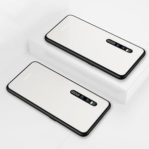 Lycra Series Eye Protection TPU Acrylic Protection Case for Vivo X27 Pro(White)