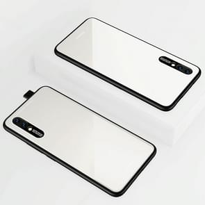 Lycra Series Eye Protection TPU Acrylic Protection Case for Vivo Nex(White)