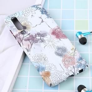 Luminous Pattern PC Protective Case for Huawei P30(Watercolor Flower)