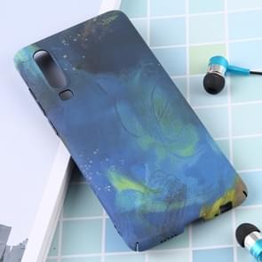 Lichtgevende patroon PC beschermende case voor Huawei P30 (blauwe oceaan)