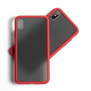 Benks Shockproof Frosted PC + TPU Case For iPhone XR(Red)