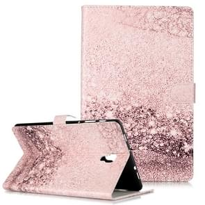 Colored Drawing Pattern Horizontal Flip PU Leather Case with Holder & Card Slots & Wallet For Galaxy Tab A 10.5 / T590(Rose Gold  Marble )