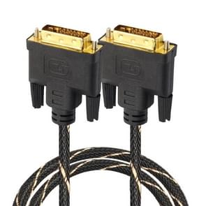 DVI 24 + 1 pin male naar DVI 24 + 1 pin Male grid adapter kabel (1.8 m)