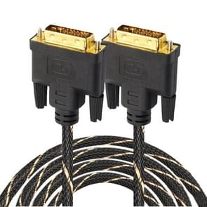 DVI 24 + 1 pin male naar DVI 24 + 1 pin Male grid adapter kabel (5m)