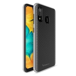 iPAKY Bumblebee PC Frame + TPU Protective Case for Xiaomi Redmi Note 7(Silver)