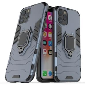 Panther PC + TPU Shockproof Protective Case with Magnetic Ring Holder for iPhone 11 Pro(Grey)