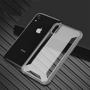 PC + TPU Shockproof Protective Case for iPhone XIR (2019)(Grey)