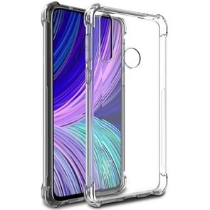IMAK All-inclusive Shockproof Airbag TPU Case with Screen Protector For HTC Desire 19+(Transparent)