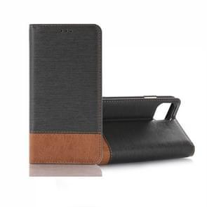 Cross textuur horizontale Flip lederen draagtas met houder & card slots & Wallet voor iPhone XI (2019) (grijs)