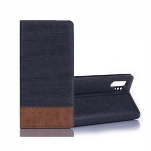 Cross Texture Horizontal Flip Leather Case with Holder & Card Slots & Wallet for Galaxy Note10 Pro(Dark Grey)