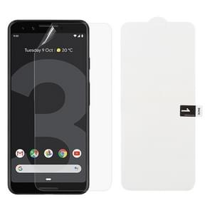 Soft Hydrogel Film Full Cover Front Protector for Google Pixel 3
