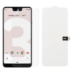 Soft Hydrogel Film Full Cover Front Protector for Google Pixel 3 XL