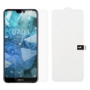Soft Hydrogel Film Full Cover Front Protector for Nokia 7.1