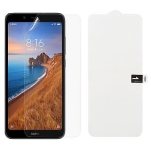 Zachte hydrogel film volledige dekking voor beschermer voor Xiaomi Redmi 7A