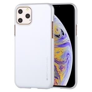 MERCURY GOOSPERY i-JELLY TPU Shockproof and Scratch Case for iPhone XI Max (2019)(Silver)