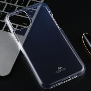 MERCURY GOOSPERY JELLY TPU Shockproof and Scratch Case for iPhone XI (2019)(Transparent)