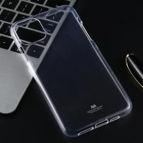 MERCURY GOOSPERY JELLY TPU Shockproof and Scratch Case for iPhone XI Max (2019)(Transparent)