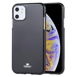MERCURY GOOSPERY JELLY TPU Shockproof and Scratch Case for iPhone 11(Black)