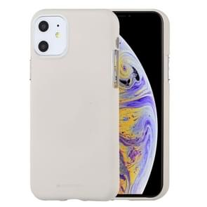 MERCURY GOOSPERY SOFE FEELING TPU Shockproof and Scratch Case for iPhone XI (2019)(Stone)