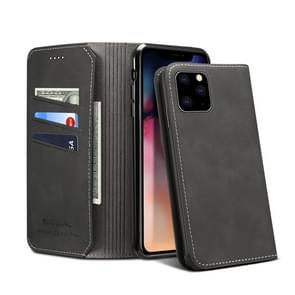 PU + TPU Horizontal Flip Leather Case with Holder & Card Slots & Wallet for iPhone 11 Pro(Black)