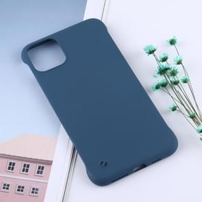 Frosted anti-skidding TPU beschermhoes voor iPhone XI (2019) (Deep Green)