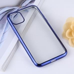 Transparent TPU Anti-Drop And Waterproof Mobile Phone Protective Case for iPhone XI Max (2019)(Blue)