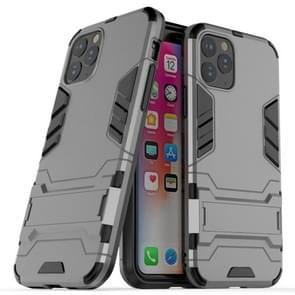 Shockproof PC + TPU Case with Holder for 11 Pro(Grey)
