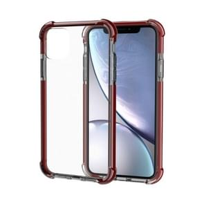 Shockproof TPU + Acrylic Protective Case For iPhone 11(Brown)