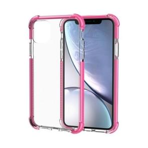 Shockproof TPU + Acrylic Protective Case For iPhone 11 Pro Max(Pink)