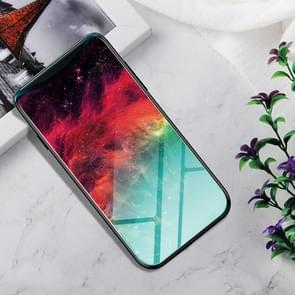 Shockproof Tempered Glass + TPU Case For OPPO Find X(Colorful Nebula)