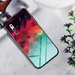 Shockproof Tempered Glass + TPU Case For Vivo X27(Colorful Nebula)
