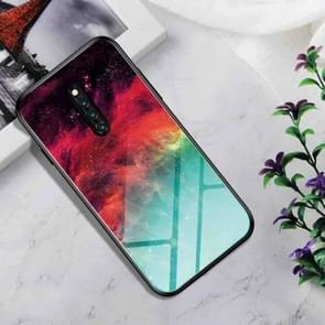 Shockproof Tempered Glass + TPU Case For Vivo X27 Pro(Colorful Nebula)