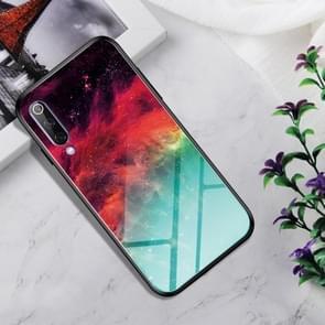 Shockproof Tempered Glass + TPU Case For Xiaomi Mi 9(Colorful Nebula)