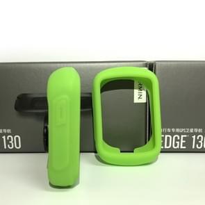 Garmin EDGE 130 code tabel silicone kleurrijke beschermende cover (groen)