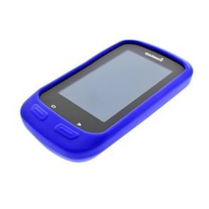 Fiets code tabel schokbestendig siliconen kleurrijke beschermende case voor Garmin Edge 1000  host niet inbegrepen (blauw)