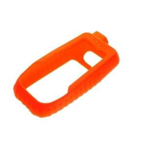 Fiets handheld code tabel schokbestendig silicone kleurrijke beschermende case voor Garmin GPSMAP66st/66s (Orange)